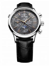 Les Classiques Chrono Phase de Lune -LC6078-SS001-331