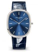 Мужские классические часы в платиновом корпусе 5738P-001