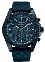 Мужские спортивные часы Breitling Bentley-XB0613C1_C984_166S лимитированный хронограф в корпусе Breitlight с синим циферблатом, синим каучуком
