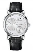 Мужские классические часы Lange&Sohne Lange1- 191 039 в клорусе из белого золота на коже кроко