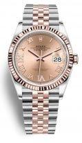 Женские часы Rolex Datejust- 126 231 в биколорном корпусе (сталь и розовое золото) на браслете Jubilee