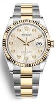 Женские часы Rolex Datejust- 126 233 с биколорным корпусом и на биколорном браслете Oyster
