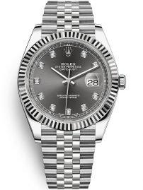 Rolex 126 334 grey