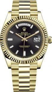 Rolex 228 238 black