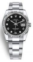Часы унисекс (женские/мужские) Rolex Datejust Date- 115 234 стальной корпус с безелем из белого золота и стальным браслетом Oyster