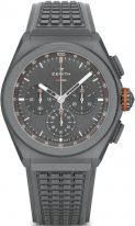 Мужские спортивные часы Zenith Defy 97 9000 9004 01 R787 в титановом корпусе, с серым циферблатом, серый каучук, лимитированные