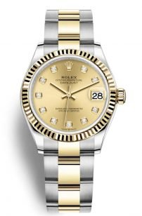 Rolex 278 253 gold
