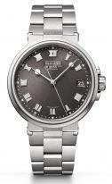 Мужские спортивные часы Breguet Marine 5517TI_G2_TZ0 в титановом корпусе, серый циферблат, титановый браслет.