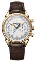 Мужские классические часы Vacheron Constantin Historiques 5000H_000R_B059 в розовом золоте, хронограф, светлый циферблат, коричневая кожа кроко.
